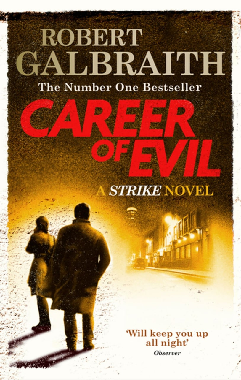 ​Career of evil, Robert Galbraith        На службе зла, Роберт...