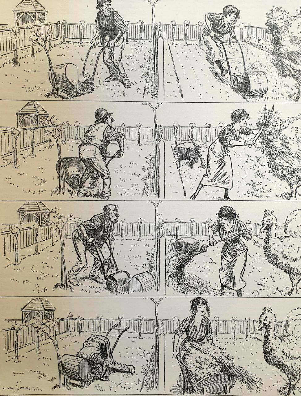 Соревнование садовников. Трагикомедия в четырёх актах.  Журнал
