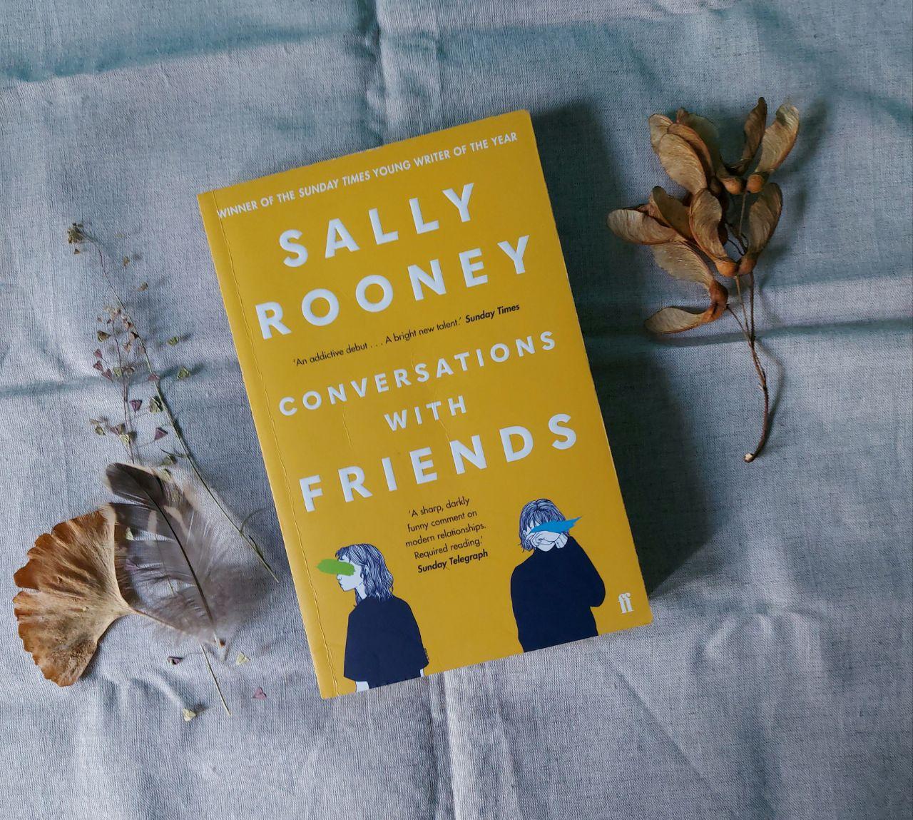 Книга Салли Руни «Разговоры с друзьями» вышла в этом месяце на русском языке...