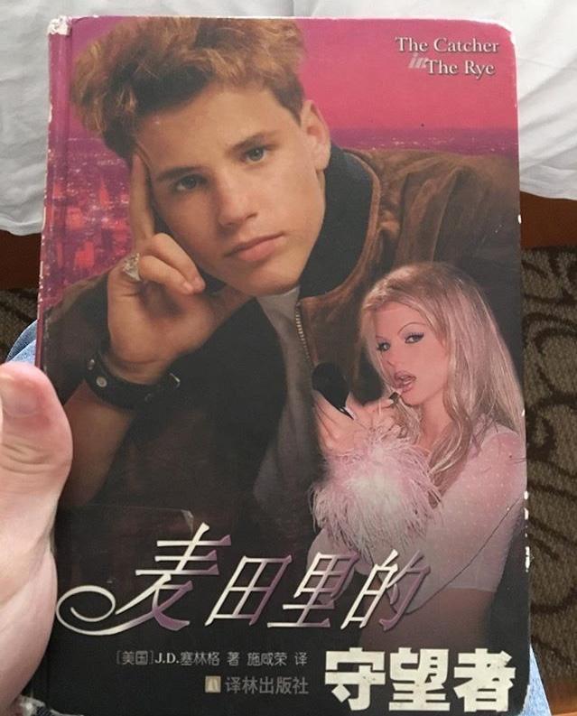 """На ночь. Современное китайское издание """"Над пропастью во ржи"""" Сэлинджера...."""