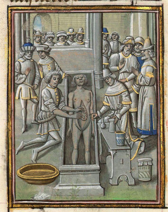 На ночь. Из книги о средневековых роботах. Александр Македонский, которого тут...