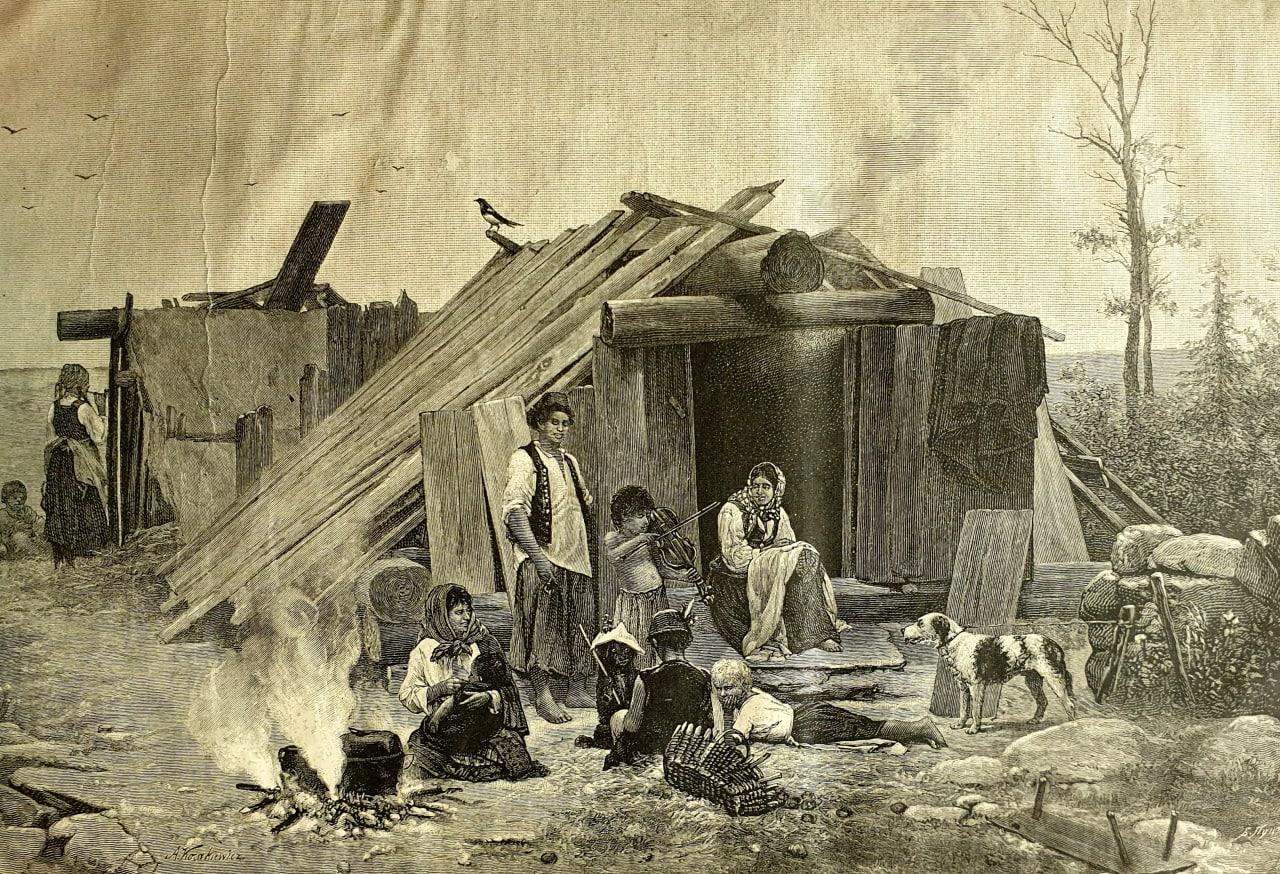 Цыганский табор  Не много нужно этому живому и доныне поэтическому племени!..