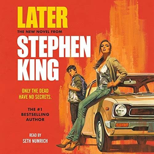 Later, Stephen King  Новый роман Стивена Кинга понравится, думаю, всем его...