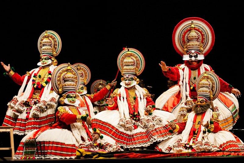 «Что представление уже началось, было не важно, ведь культура катхакали...