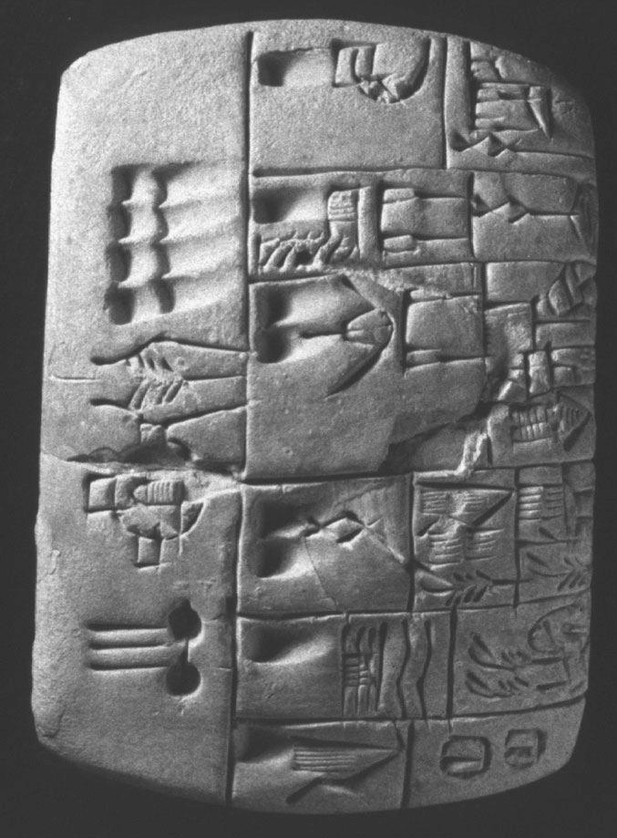 М и Ж по-месопотамски: использование гениталий для обозначения пола рабов...