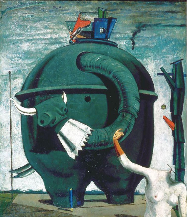 """В книге по истории искусства обнаружился прототип """"Слона Целебеса"""" Макса..."""