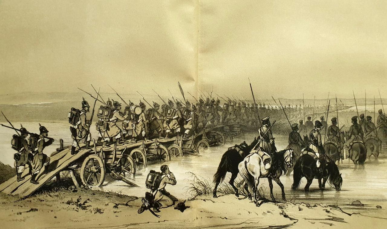 Мост на каруцах  Во время войн наших в Европейской и Азиатской Турции, особенно...
