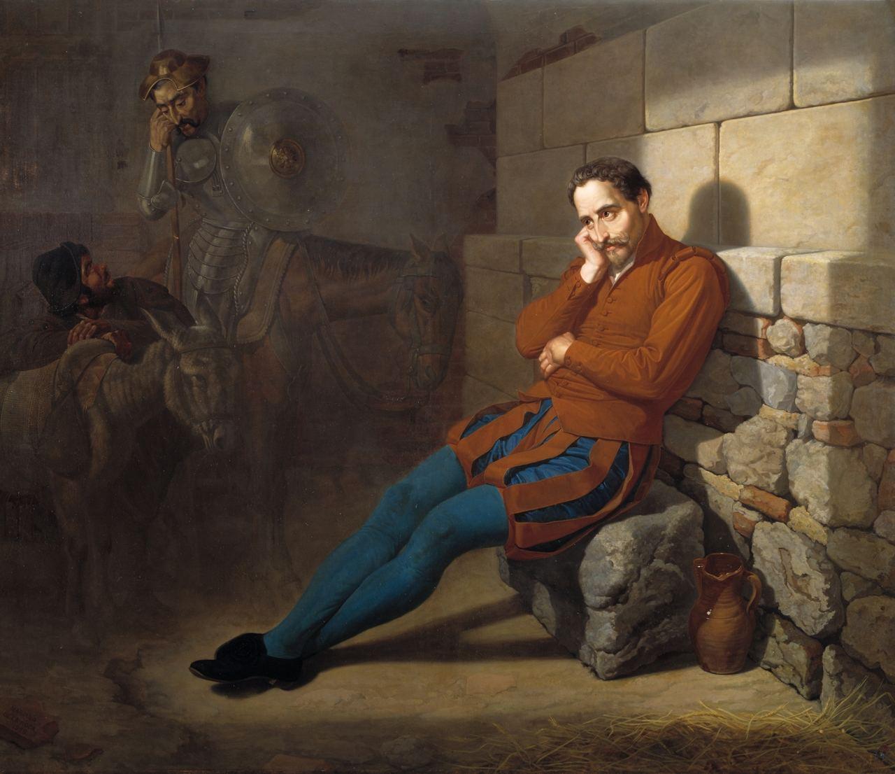 Сервантес в разбойничьем плену  Во время путешествия будущего автора...