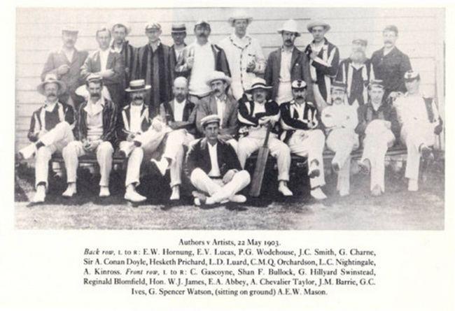 Команда по крикету  С 1890 по 1913 г. в Великобритании существовала необычная...