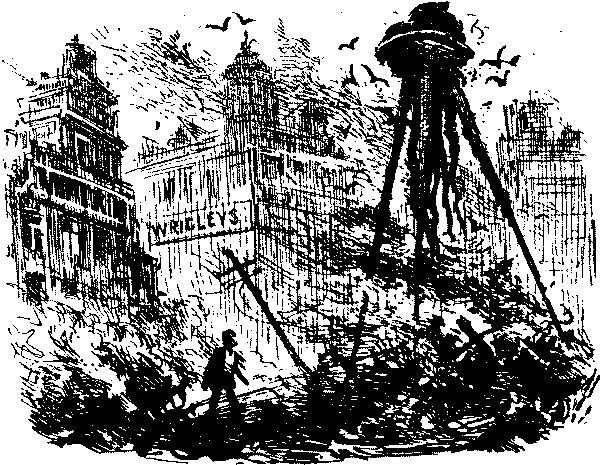  Атака марсиан в радиоэфире  В октябре 1938 года артисты «Mercury Theatre...