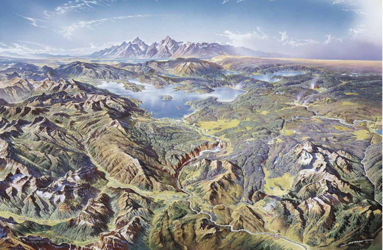 Йеллоустонский национальный парк (Генрих Беранн, 1991). Беранн довел до...