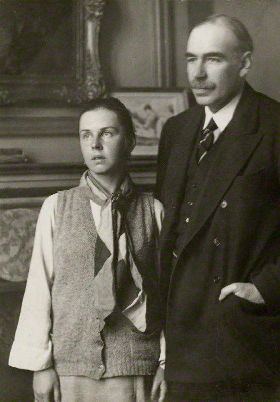 Дж. М. Кейнс и его жена Л. Лопухова.