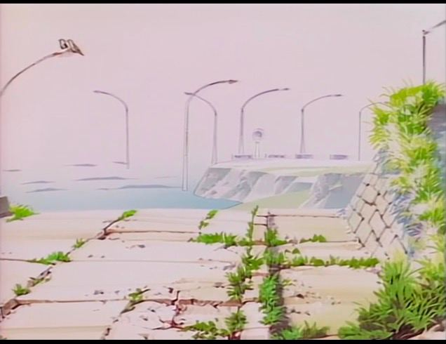 Перед ней лежал полузатонувший город. В спокойной воде, как в зеркале...