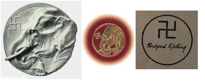 Экслибрис Киплинга  Некоторое время на обложки своих произведений Редьярд...