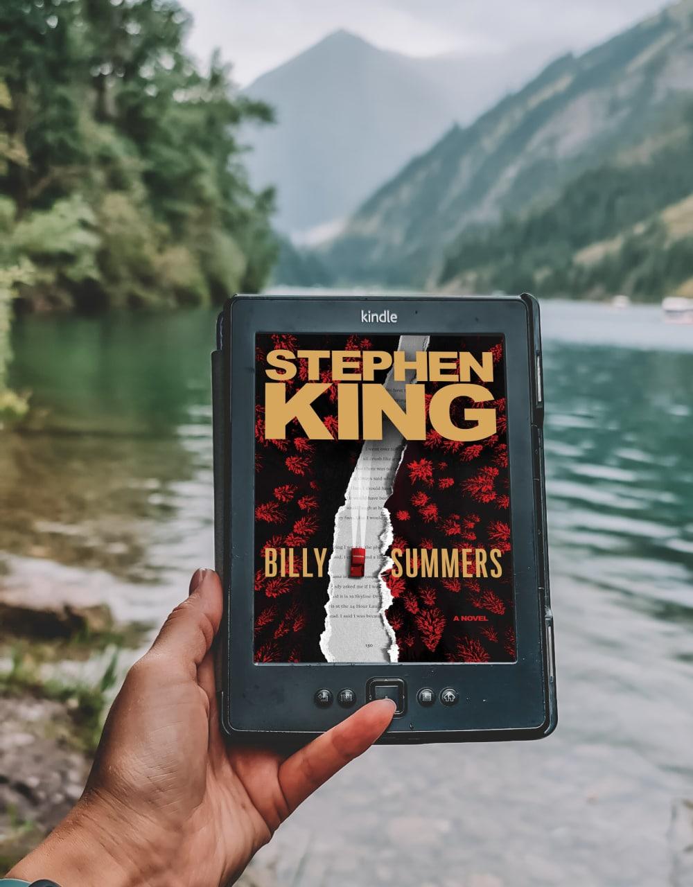Billy Summers, Stephen King  Пожалуй, лучшая его книга за последние несколько...