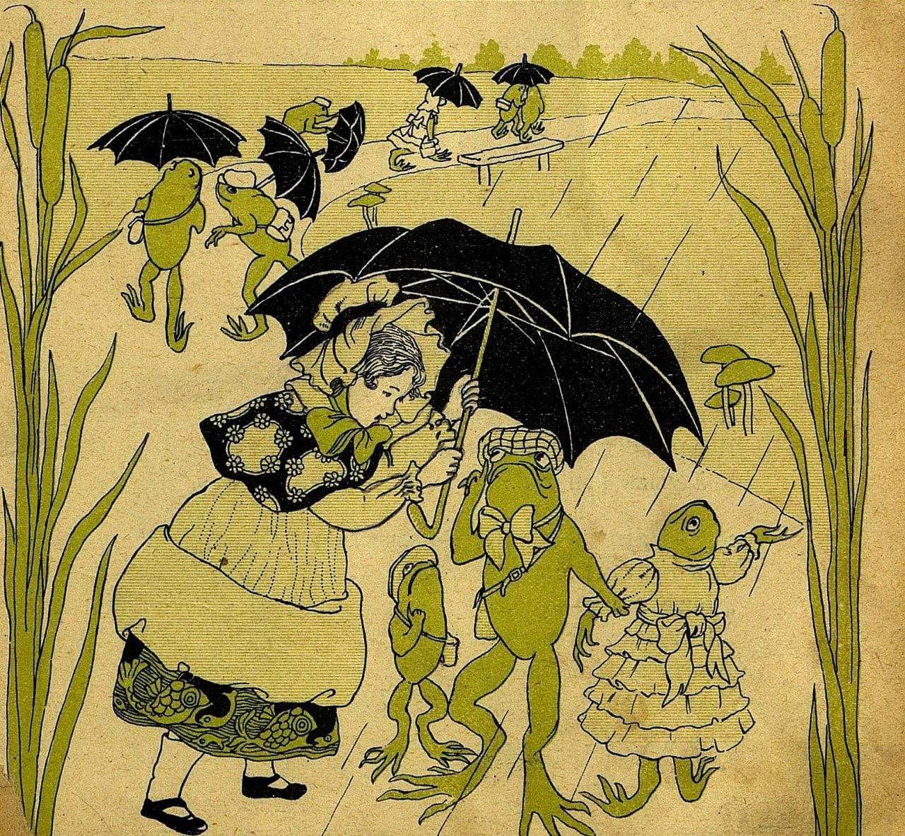 Дождливая погода  Дождикъ льетъ и день, и ночь, Просто—хоть заплакать… И...