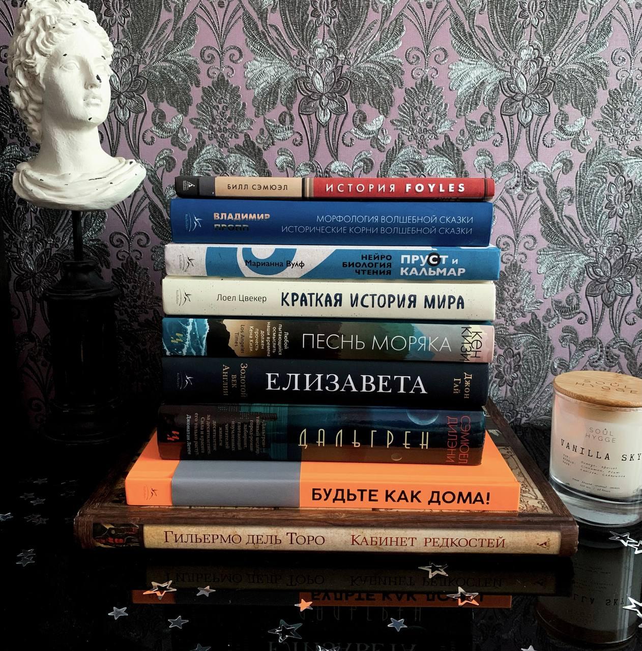 Книгами на новогодние праздники обеспечена