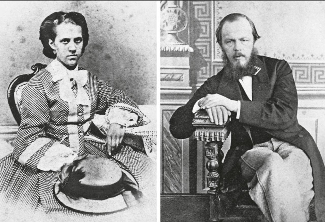 Читатель подсказал, что вышла книга о жене Достоевского Анне (Сниткиной):