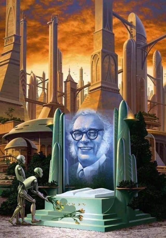 Сегодня по календарю день научной фантастики и заодно 101 день рождения Айзека...