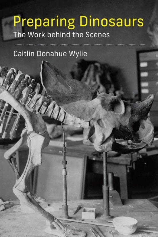 Книга-экскурс в закулисье палеонтологов. На одном фото эволюция реставраторской...