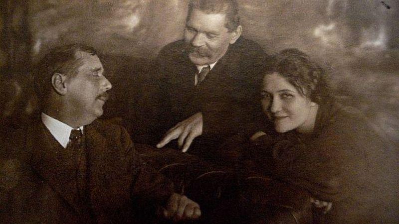  Любимая шпионка Горького и Уэллса  Позвольте представить вам Марию (Муру...