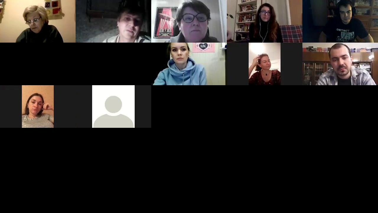 А вот и видеозапись, организованного «РЕШ» литературного клуба «Читаем с...