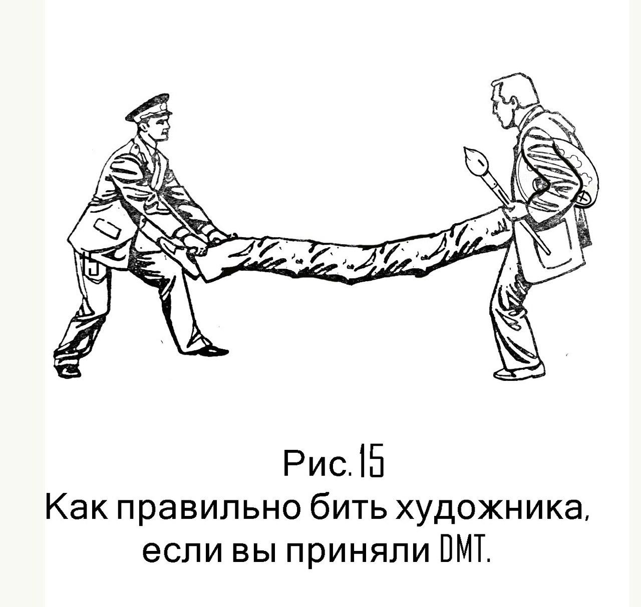 Инструкция «КАК ПРАВИЛЬНО БИТЬ ХУДОЖНИКА» автор Сергей Рожин (часть 4).
